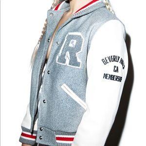 ea56ff0f8f Joyrich Jackets & Coats - Joyrich Leather and Satin Letterman Jacket Varsity